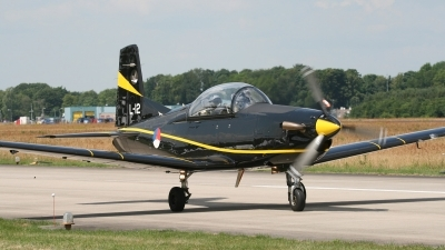 Photo ID 60254 by Niels Roman / VORTEX-images. Netherlands Air Force Pilatus PC 7 Turbo Trainer, L 12