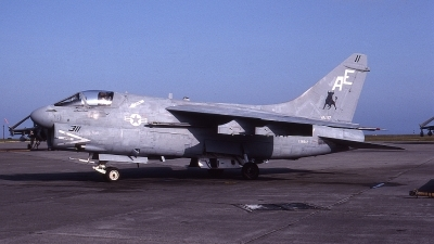 Photo ID 60097 by Rick Morgan. USA Navy LTV Aerospace A 7E Corsair II, 158842
