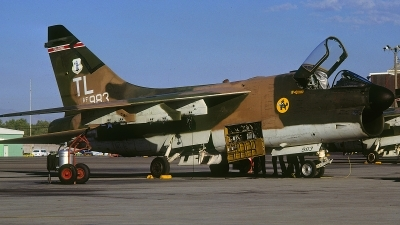 Photo ID 60173 by David F. Brown. USA Air Force LTV Aerospace A 7D Corsair II, 70 0983