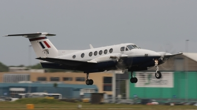 Photo ID 60669 by Rob Hendriks. UK Air Force Beech Super King Air B200, ZK454