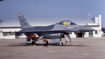Photo ID 60562 by Rick Morgan. USA Air Force General Dynamics F 16A Fighting Falcon, 80 0541