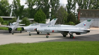 Photo ID 7547 by Ales Nyvlt. Czech Republic Air Force Mikoyan Gurevich MiG 21UM, 9341