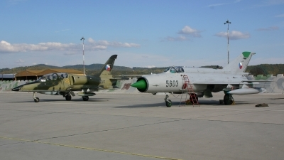 Photo ID 7550 by Ales Nyvlt. Czech Republic Air Force Mikoyan Gurevich MiG 21MFN, 5603