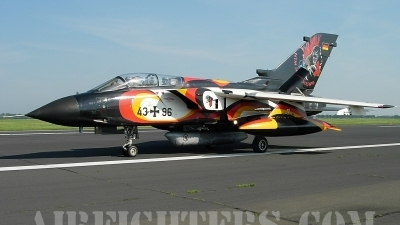 Photo ID 7557 by Rainer Mueller. Germany Air Force Panavia Tornado IDS, 43 96
