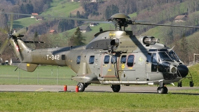 Photo ID 61209 by Rob Hendriks. Switzerland Air Force Eurocopter AS 532UL Cougar, T 342