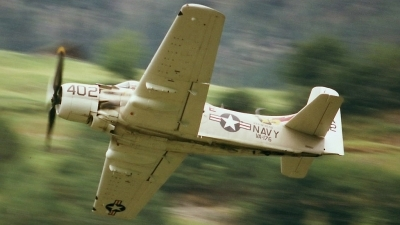 Photo ID 62496 by Martin Thoeni - Powerplanes. Private Private Douglas A 1D Skyraider AD 4NA, G RADR