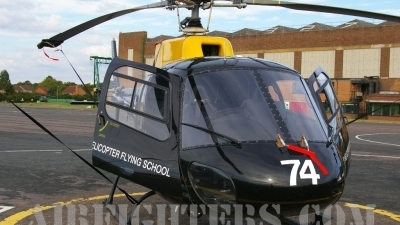 Photo ID 7644 by Peter Reoch. UK Air Force Aerospatiale AS 350B Squirrel HT1, ZJ274
