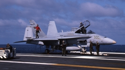 Photo ID 61033 by Rick Morgan. USA Navy McDonnell Douglas F A 18C Hornet, 163496