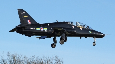Photo ID 61291 by Mike Griffiths. UK Air Force British Aerospace Hawk T 1A, XX335