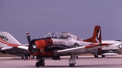 Photo ID 61297 by Rick Morgan. USA Navy North American T 28B Trojan, 138130