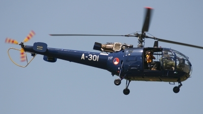 Photo ID 61452 by Rob Hendriks. Netherlands Air Force Sud Aviation SE 3160 Alouette III, A 301
