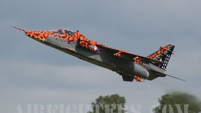 Photo ID 7673 by lee blake. UK Air Force Sepecat Jaguar GR3A, XX119