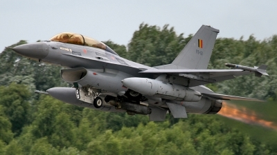Photo ID 61620 by Mick Balter - mbaviation-images. Belgium Air Force General Dynamics F 16BM Fighting Falcon, FB 12