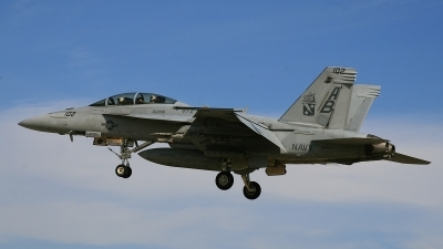 Photo ID 61436 by David F. Brown. USA Navy Boeing F A 18F Super Hornet, 166624