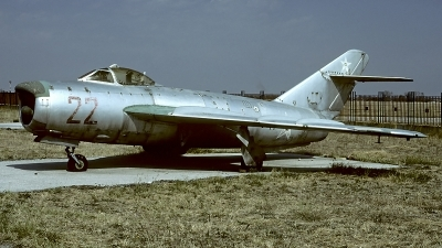 Photo ID 61875 by Carl Brent. Bulgaria Air Force Mikoyan Gurevich MiG 17PF, 22
