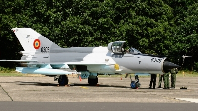 Photo ID 62564 by Rob Hendriks. Romania Air Force Mikoyan Gurevich MiG 21MF 75 Lancer C, 6305