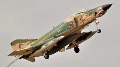 Photo ID 62427 by Eric Tammer. Japan Air Force McDonnell Douglas RF 4E Phantom II, 57 6907