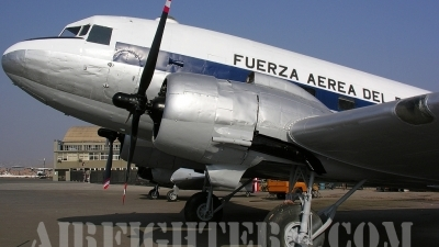Photo ID 7902 by Eduardo Cardenas Suyo. Peru Air Force Douglas C 47A Skytrain, 357