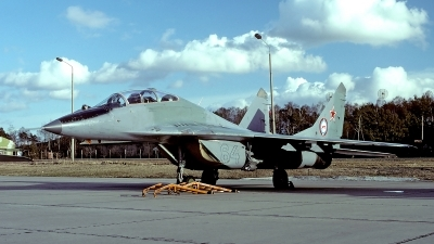 Photo ID 63679 by Carl Brent. Russia Air Force Mikoyan Gurevich MiG 29UB 9 51, 64