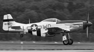 Photo ID 63888 by Tony Printezis. Private Private North American P 51D Mustang, N751RB
