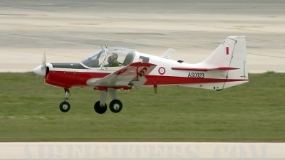 Photo ID 7978 by Gordon Zammit. Malta Air Force Scottish Aviation Bulldog T1, AS0023