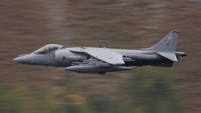 Photo ID 63936 by Tom Gibbons. UK Air Force British Aerospace Harrier GR9, ZD403