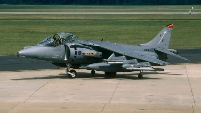 Photo ID 63937 by David F. Brown. UK Air Force British Aerospace Harrier GR7, ZD464