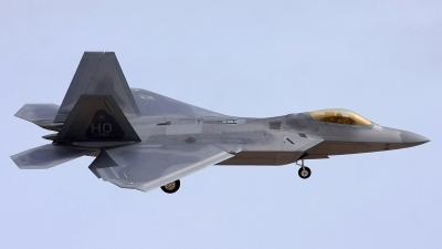 Photo ID 64028 by mark forest. USA Air Force Lockheed Martin F 22A Raptor, 05 4084
