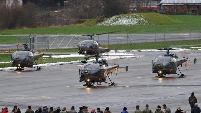 Photo ID 64122 by Martin Thoeni - Powerplanes. Switzerland Air Force Aerospatiale SA 319B Alouette III, V 274