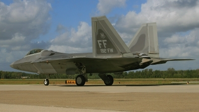 Photo ID 64384 by David F. Brown. USA Air Force Lockheed Martin F 22A Raptor, 04 4082