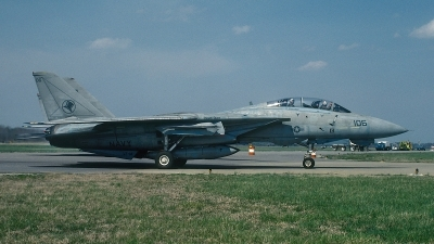 Photo ID 64443 by David F. Brown. USA Navy Grumman F 14A Tomcat, 160897