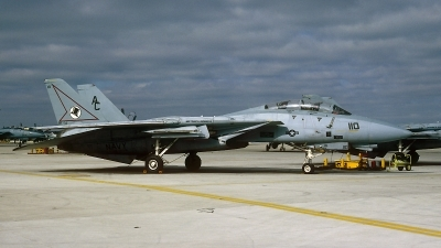 Photo ID 64545 by David F. Brown. USA Navy Grumman F 14A Tomcat, 160393