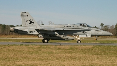 Photo ID 64588 by David F. Brown. USA Navy McDonnell Douglas F A 18C Hornet, 163477