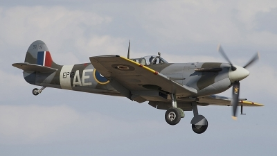 Photo ID 64934 by Niels Roman / VORTEX-images. Private Private Supermarine 349 Spitfire LF5B, G LFVB