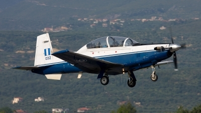 Photo ID 64921 by Giampaolo Tonello. Greece Air Force Raytheon T 6A Texan II, 032
