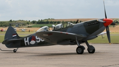 Photo ID 65071 by Niels Roman / VORTEX-images. Private Private Supermarine 509 Spitfire T9C, G CCCA