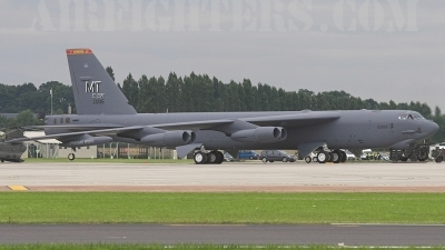 Photo ID 8141 by James Shelbourn. USA Air Force Boeing B 52H Stratofortress, 60 0005