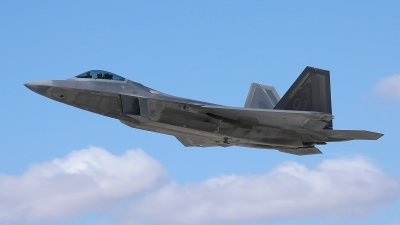 Photo ID 65200 by John Featherstone. USA Air Force Lockheed Martin F 22A Raptor, 99 4010