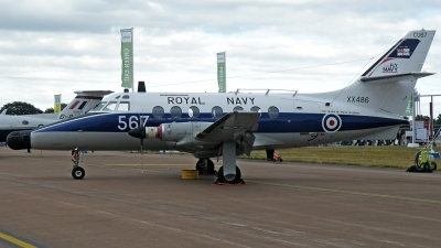 Photo ID 65614 by Fernando Sousa. UK Navy Scottish Aviation HP 137 Jetstream T2, XX486