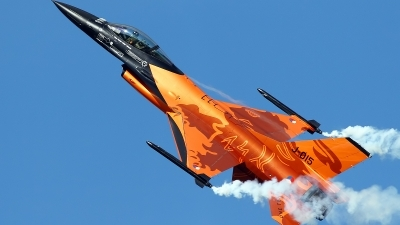 Photo ID 65377 by Patricie Vesela. Netherlands Air Force General Dynamics F 16AM Fighting Falcon, J 015