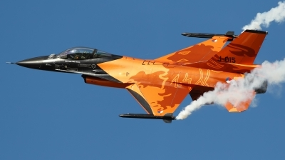 Photo ID 65461 by Patricie Vesela. Netherlands Air Force General Dynamics F 16AM Fighting Falcon, J 015