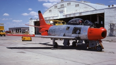 Photo ID 65441 by Rick Morgan. Company Owned Flight Systems North American QF 86E Sabre, N74170