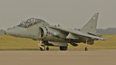 Photo ID 65480 by Liam Paul McBride. UK Air Force British Aerospace Harrier T12, ZH664