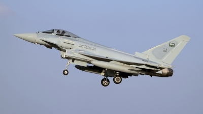 Photo ID 65585 by Stephen J Muscat. Saudi Arabia Air Force Eurofighter EF 2000 Typhoon F2, ZK076