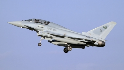 Photo ID 65583 by Stephen J Muscat. Saudi Arabia Air Force Eurofighter EF 2000 Typhoon T3, ZK073