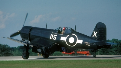 Photo ID 65632 by David F. Brown. Private Planes of Fame Air Museum Goodyear FG 1D Corsair, N72NW