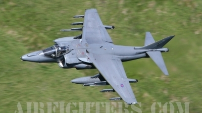 Photo ID 8222 by Paul Cameron. UK Air Force British Aerospace Harrier GR9, ZD329
