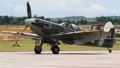 Photo ID 66191 by Niels Roman / VORTEX-images. Private Private Supermarine 349 Spitfire LF5B, G LFVB