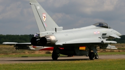 Photo ID 66360 by Guido Haesevoets. UK Air Force Eurofighter EF 2000 Typhoon F2, ZJ910