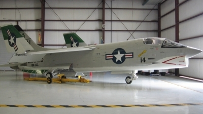 Photo ID 8266 by Gerry LaBarge. USA Navy Vought F 8K Crusader, 146985